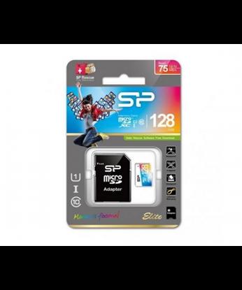 تصویر رم میکرو Silicon Power 128GB Class 10 Elite Color