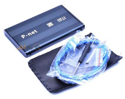 تصویر باکس هارد 2.5 اینچی Pnet  USB3.0