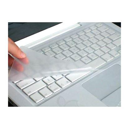 تصویر روکش کیبورد ژله ای لپ تاپ کوچک