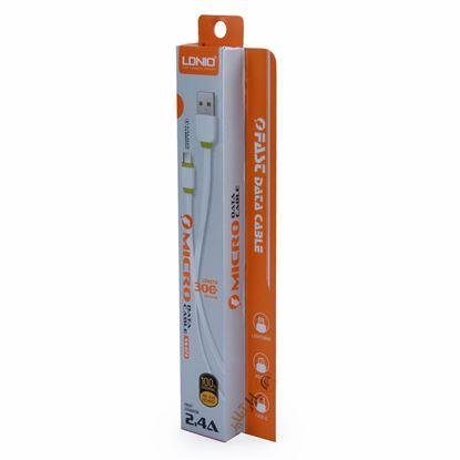 تصویر کابل فست Ldnio XS-073 Micro Usb پاور بانکی