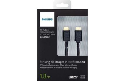 تصویر  كابل HDMI Philiphs 1.8m  Swv9732W   4K