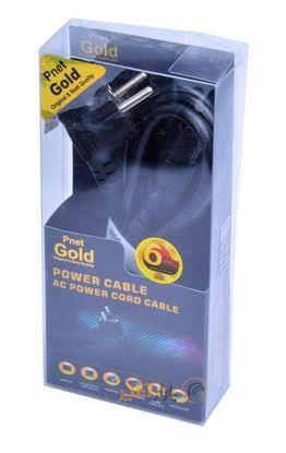 تصویر کابل برق  Pnet 1.5m Gold