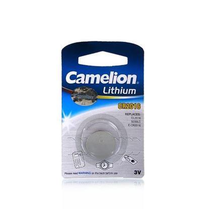 تصویر 10 عدد باتری سکه ای Camelion Lithium 2016