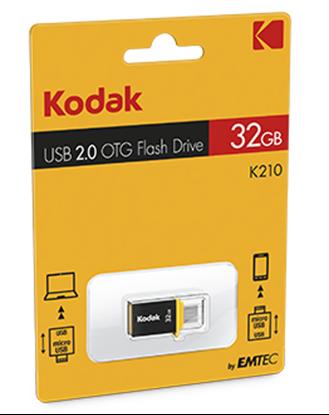 تصویر فلش مموری Kodak  K210   OTG    32GB