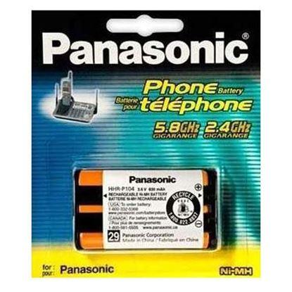 تصویر باتری تلفن بی سیم (Panasonic P104 (C095
