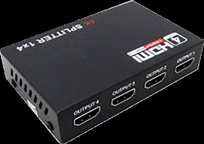 تصویر اسپلیتر 4 پورت HDMI V-net