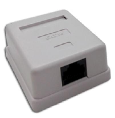 تصویر کیستون باکس شبکه تک پورت CAT5E FTP SURFACE PNET PLUS 20-90