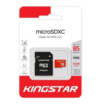 تصویر مموری Kingstar 85M Class10  32G MicroSD