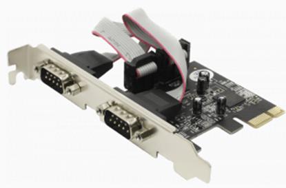 تصویر کارت 9 پین P-net COM PCI USB3