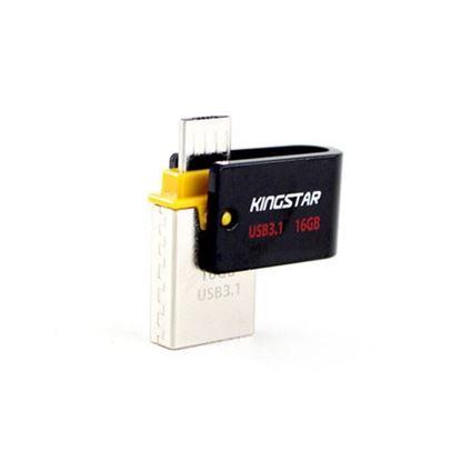 تصویر فلش مموری  Kingstar S30  32G OTG USB3.1