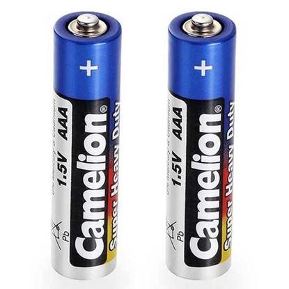تصویر 20 بسته ی 2 عددی (40 عدد) باتری شرینگ نیم قلم Camelion