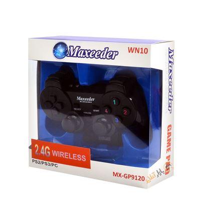 تصویر گیم پد وایرلس تک شک ساده  MAXEEDER MX-GP9120