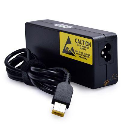 تصویر شارژر لپ تاپ lenovo 20V 4.5A PNET سوکت USB اورجینال