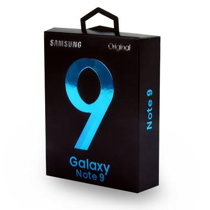 تصویر شارژ و کابل فست Samsung  پک Note 9