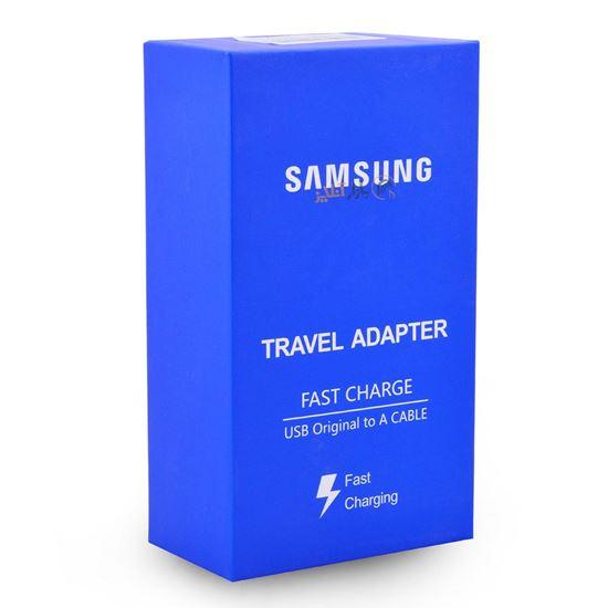 تصویر شارژر و کابل Samsung فست Grade A+ MicroUsb