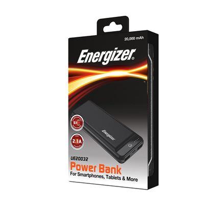 تصویر پاور بانک Energizer UE20032  20000mah