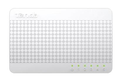تصویر سوییچ ۵ پورت Tenda S105 5Port Desktop Switch