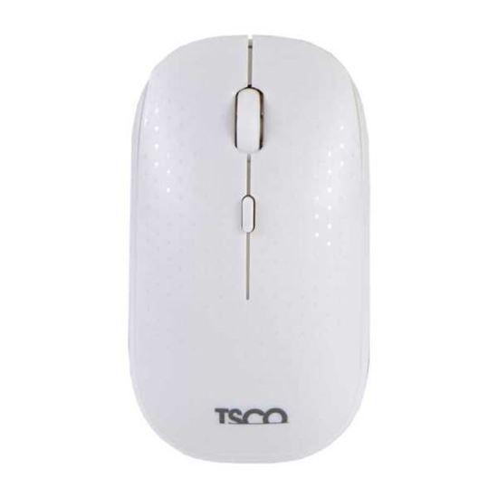 تصویر ماوس وایرلس قابل شارژ Tsco  TM700 سفید