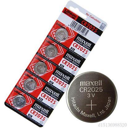 تصویر 1 بسته 5 عددی باتری سکه ای  لیتیوم Maxell 2025