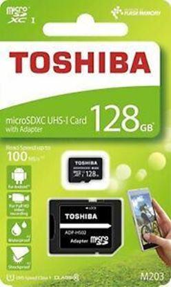 تصویر رم میکرو Toshiba 128GB Class 10 U1