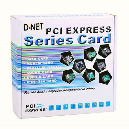 تصویر کارت D-NET PCI Express USB3.0 2 PORT