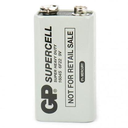 تصویر باتری  9 ولت  کتابی GP