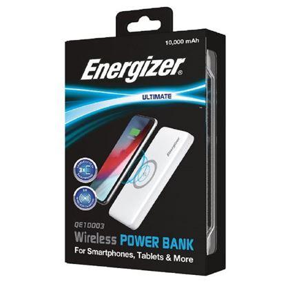 تصویر پاور بانک وایرلس Energizer QE10003 10000mah