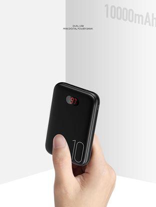 تصویر پاور بانک یوسمز مدلpower bank PB9 Mini با ظرفیت 10000میلی آمپر ساعت