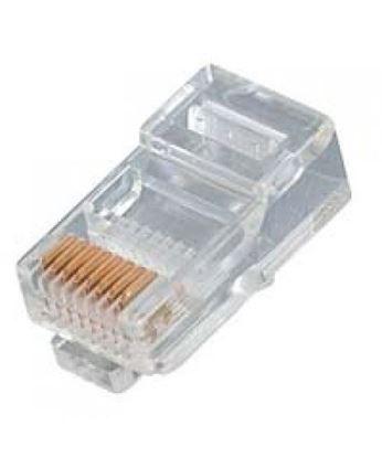 تصویر 100 عدد سوکت شبکه Cat5   AMP
