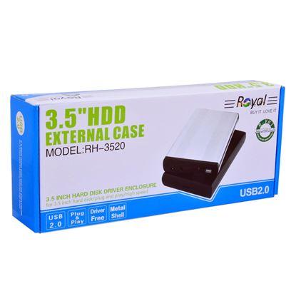 تصویر باکس هارد 3.5 اینچی Royal  USB2.0