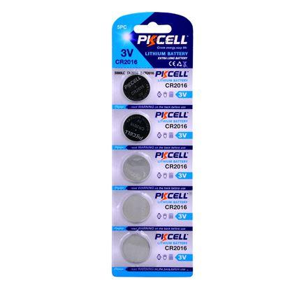 تصویر 5 عدد باتری سکه ای Pixcell Lithium 2016