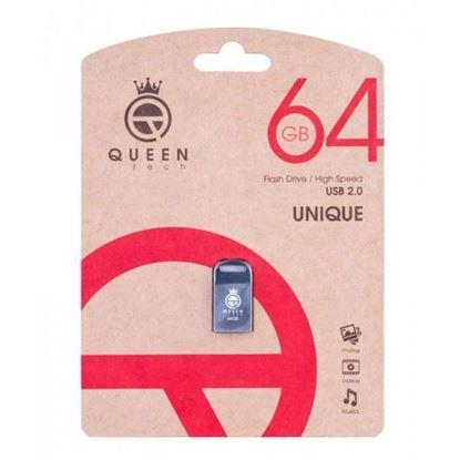 تصویر فلش Queen UNIQUE 64G