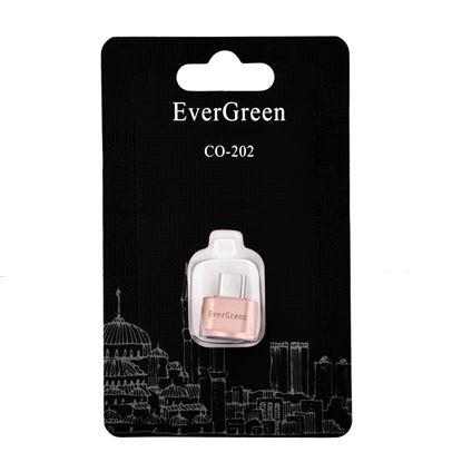 تصویر تبدیل  OTG type C EverGreen CO-202 فقط مخصوص گوشی های رده بالا