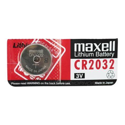 تصویر باتری سکه ای Maxell CR2032