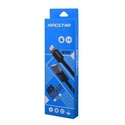 تصویر کابل Kingstar Lightning مدل K117i