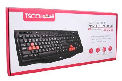 تصویر کیبورد TSCO مدل TK 8018