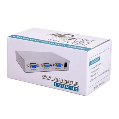 تصویر اسپلیتر 2 پورت VGA 150Mhz