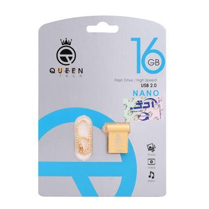 تصویر فلش مموری  Queen Tech 16GB مدل Nano