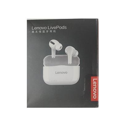 تصویر ایربادز Lenovo مدل Live Pods LP1S اورجینال