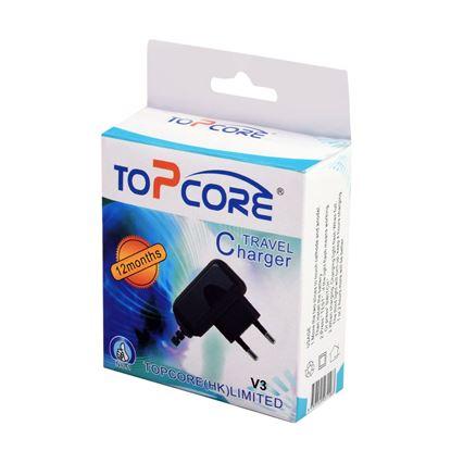 تصویر شارژر  و کابل  Top Core V3