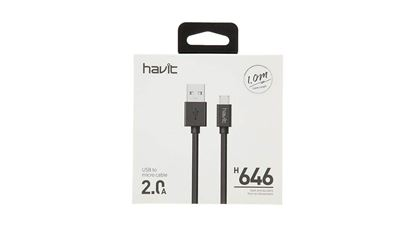 تصویر کابل میکرو یو اس بی  هویت  Havit microUSB مدل H646