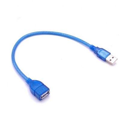 تصویر کابل 30 سانتی متری افزایش طول USB